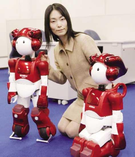Latest Humanoid Robot by Hitachi