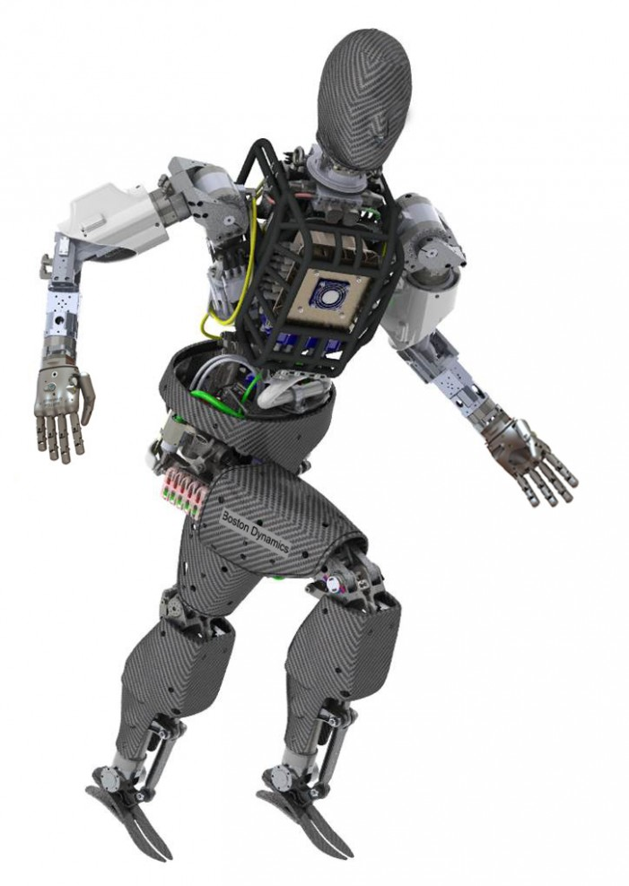 DRC Robot for DARPA Grand Challenge