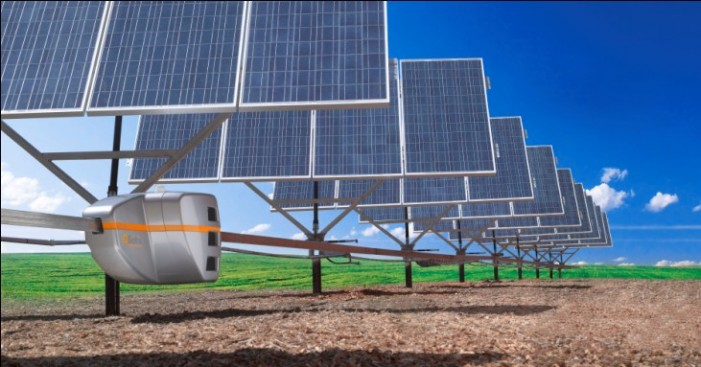 Robots automating solar panels