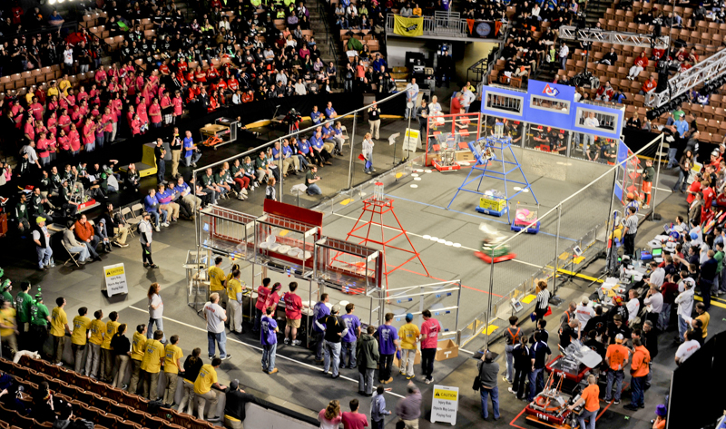 Granite State Regional FIRST Robotics Competition, Manchester NHPhoto Credit: Lipofsky.com