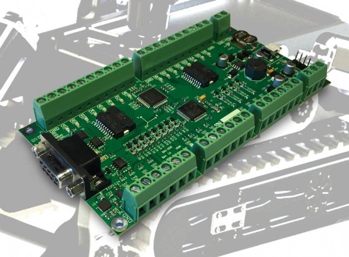 Intelligent I/O Module with IMU Simplifies Robot Design