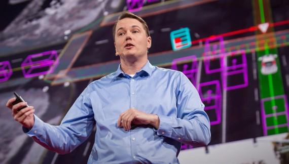 How driverlesss car sees
