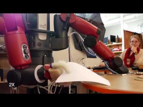 MIT robot's soft hand grip