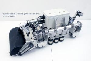 ICM Boiler Tube Wall Climbing (BTWC) Robot. Photo Credit: icm.cc