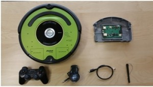 Pan Tilt iRobot Create 2 Tutorial and Video. Credit : gumstix.com