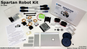 Spartan Robot Kit by Modern Robotics Inc.