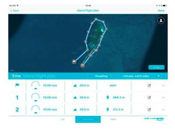 Drone Piloting Application