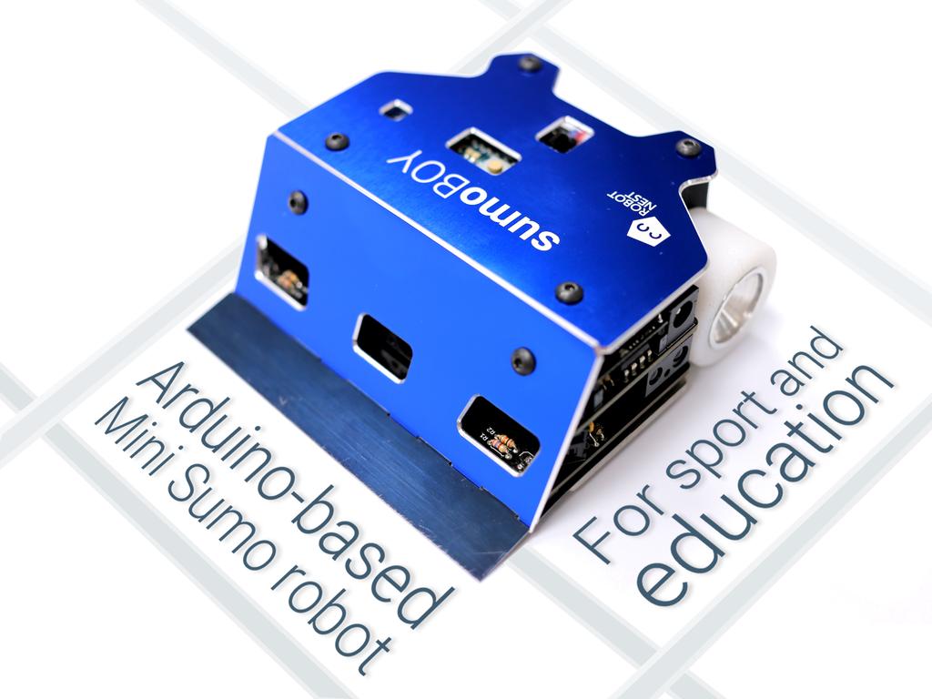 Sumoboy a multipurpose arduino based kit roboticmagazine