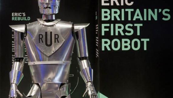 Eric the Robot Unveiled at Science Museum – London
