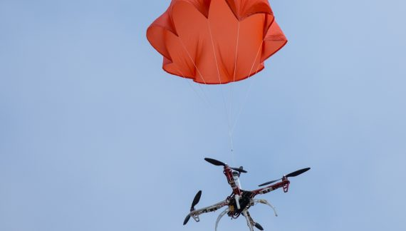 An interview about drone parachutes