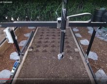 Grow food automatically in your backyard by Farmbot