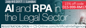 AI and Robotic Process Automation for Legal Sector