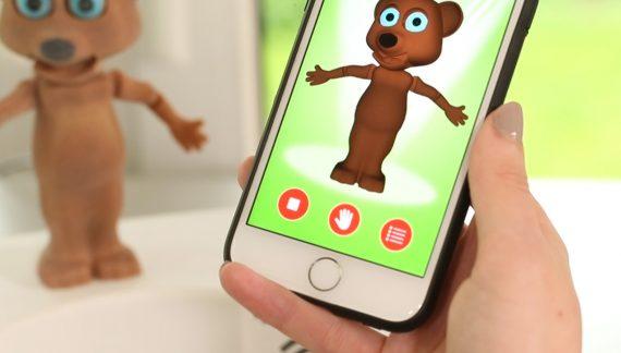 Cellphone controlled Robot Bear
