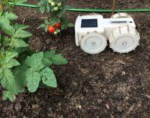 Solar Powered Garden Robot