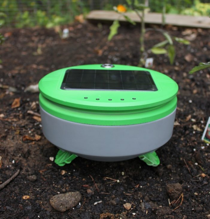 Solar Powered Garden Robot