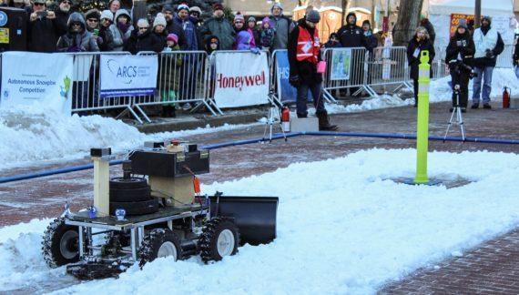 Autonomous Snowplow Competition
