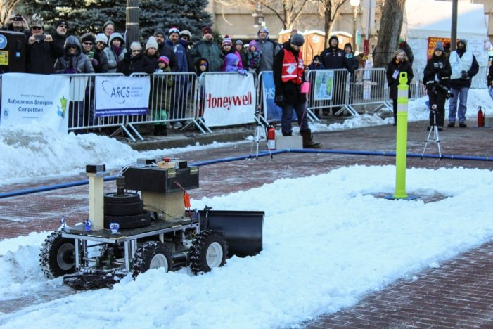 Autonomous Snowplow Competition