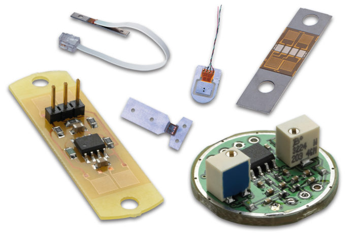 Miniature, Lightweight Hybrid Sensors for Force, Displacement, Pressure, Strain and Acceleration