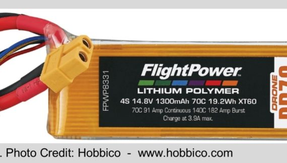 Batteries for Drones
